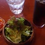 25091717 - サラダと野菜のトマト煮