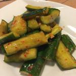 香港厨房 - ピリ辛キュウリ