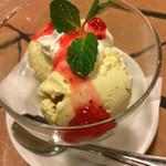 香港厨房 - バニラアイス