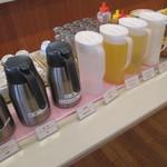 京都市宇多野ユースホステル - 飲物系は揃ってました