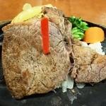 ステーキのどん - 熟成リブロインステーキ150g1,590円