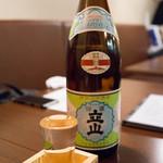 ichi - 立山 本醸造 700円