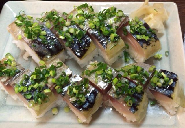 居酒屋やま都 - 絶品☆鯖寿司!