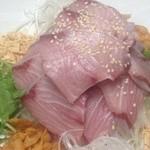 中国菜ろうりん - 天然ブリの広東風刺身サラダ