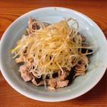 けん - 2013.12 ネギチャーシュー丼 ¥200