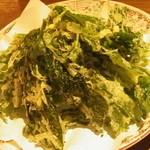 はっとり - 明日葉の天ぷら。これが1番♪