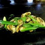 お好み焼き ほり - カキ鉄板焼き