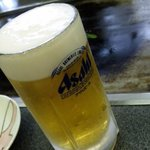 お好み焼き ほり - 生ビール