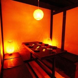 個室/お座敷様々なタイプのお席をご用意しております