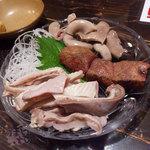 豚匠 - 豚3点盛り 580円