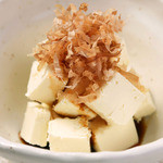 浪花屋 鳥造 - クリームチーズに鰹節と醤油。新和洋コラボ