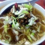 中華鄂菜 楚天 - 唐辛子麺(350円)