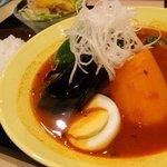 スープカレーダイニング en - 赤カレー