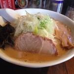 麺屋 一番星 - 味噌ラーメン  750円
