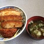 つけもの茶屋 - ソースカツ丼(⑅˃◡˂⑅)