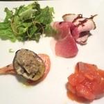 温古舎 - ディナーコースの前菜