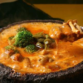 名物!メキシカン溶岩チーズ鍋!
