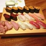 鮨仁 - 料理写真:回らない寿司〜〜。久しぶり
