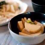 入山うどん - 料理写真:入山うどん 漬物  Photo by あなたのかわりに・・・