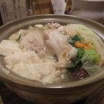 2513923 - しゃも鍋(塩味)
