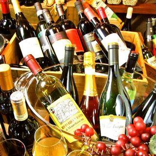 グラスでも楽しめる、手頃なイタリアワインを多数取り揃えました