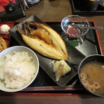 ざくろ - 本日の焼魚定食
