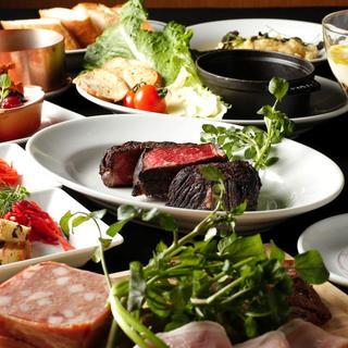 【飲み放題】熟成牛ステーキとワインで集まる!飲み放題プラン