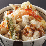 豆禅 - ◆ミニ天丼