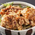 豆禅 - ミニ唐揚げ丼