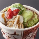 豆禅 - ◆生湯葉と抹茶アイス