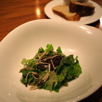 トリニテ - 根セロリとレンズ豆のサラダ