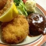 洋食フジイ - カニクリームコロッケ