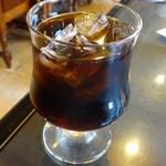 くろふね - アイスコーヒー350円
