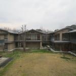 京都市宇多野ユースホステル - 中庭も広々として