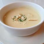 のらくろ - トルコライスのセットスープ