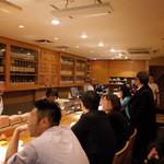 とり喜 - カウンター&オープンキッチン 2014.3.18