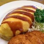 レストラン 白鳥 - オムカツ