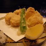 日本料理 いいじま - 海老芋のてんぷら
