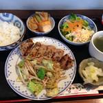 キッチン樹林 - 料理写真:ランチ、豚肉の味噌焼