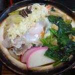 高原食堂 - 鍋焼きうどん900円(2014年3月)