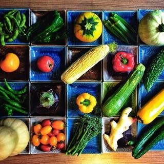 棲家のこだわり!!農家野菜たち。