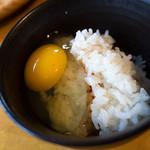 バイキングレストラン 農  - 卵かけご飯はマスト! めっちゃ美味いィ~。