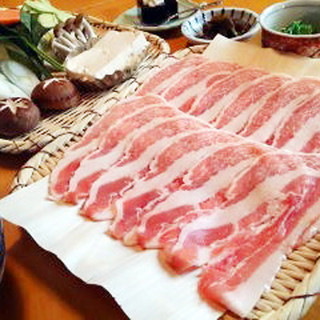 和豚もちぶたしゃぶセット…2,570円