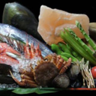 全国から質の高い朝獲れ鮮魚や旬の食材を厳選
