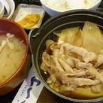 魚や一丁 - 肉豆腐定食 税込780円
