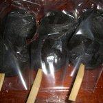 あめや製菓舗 - 料理写真:黒ごま団子