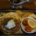 赤煉瓦 - ハンバーグ&ホタテフライ