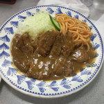 とん龍 - ポークチャップ(トンテキ) 1100円也