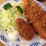 とんかつ 安右衛門 - 魚フライ定食        かます