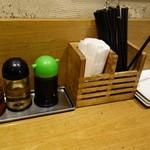 KITCHEN TACHIKICHI - テーブルの調味料